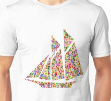 red yacht Unisex T-Shirt