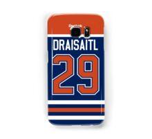 Edmonton Oilers Leon Draisaitl Jersey Back Phone Case Samsung Galaxy Case/Skin