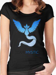 Pokemon GO! Team Mystic Women's Fitted Scoop T-Shirt