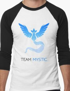 Pokemon GO! Team Mystic Men's Baseball ¾ T-Shirt