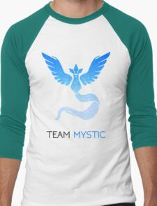Pokemon GO! Team Mystic Men's Baseball ¾ T-Shirt