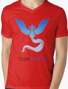 Pokemon GO! Team Mystic Mens V-Neck T-Shirt