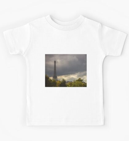 Eiffel Tower Kids Tee