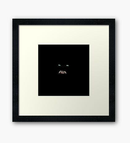 G'Mork - Nothing Framed Print