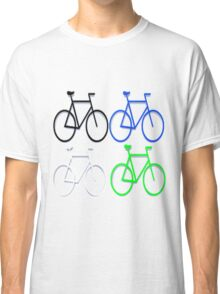 4 bicycles Classic T-Shirt