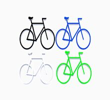 4 bicycles Unisex T-Shirt