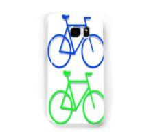 4 bicycles Samsung Galaxy Case/Skin