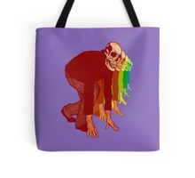 Racing Rainbow Skeletons Tote Bag