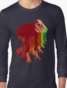 Racing Rainbow Skeletons Long Sleeve T-Shirt