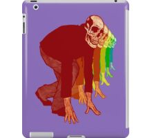 Racing Rainbow Skeletons iPad Case/Skin