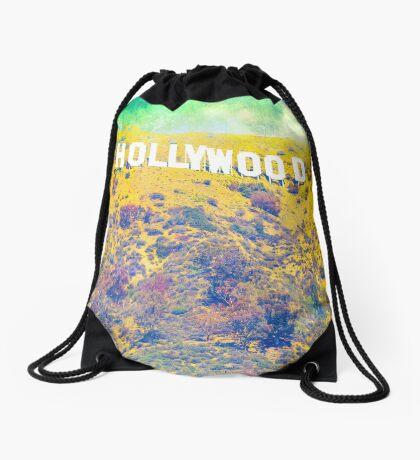 Hollywood Drawstring Bag