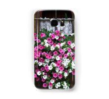 Pink And White Petunias Samsung Galaxy Case/Skin