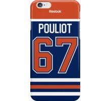 Edmonton Oilers Benoit Pouliot Jersey Back Phone Case iPhone Case/Skin
