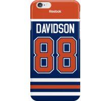 Edmonton Oilers Brandon Davidson Jersey Back Phone Case iPhone Case/Skin