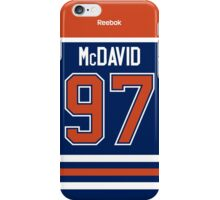 Edmonton Oilers Connor McDavid Jersey Back Phone Case iPhone Case/Skin