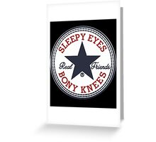 Real Friends Band Greeting Card