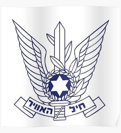 ISRAELI AIR FORCE Poster