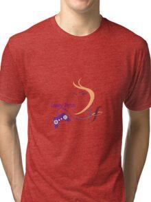 Lassy Fenn Official Merchendise Tri-blend T-Shirt