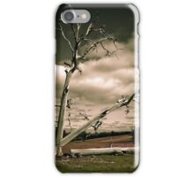 Timelapse of a Tree being Felled iPhone Case/Skin