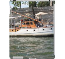 French boat iPad Case/Skin