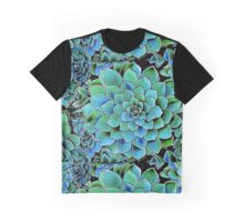 Spring Gems ~ Emerald Succulents Graphic T-Shirt
