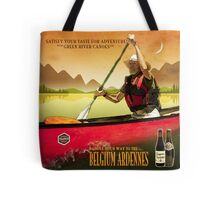 PillowTote - Canoeing and Trappist Beers Tote Bag