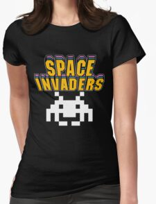 SPACE INVADERS Womens Fitted T-Shirt