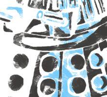 Dalek Graffiti Sticker