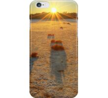 Lake Disappointment sunrise iPhone Case/Skin