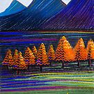Perfect Pastels - Wilpena First Light by Georgie Sharp