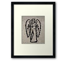 Weeping Graffiti Framed Print