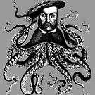 Squid King Henry VII by monsterplanet
