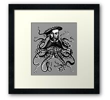 Squid King Henry VII Framed Print