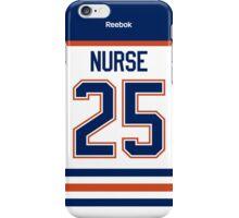 Edmonton Oilers Darnell Nurse Away Jersey Back Phone Case iPhone Case/Skin