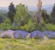 Lavender Clouds by Karen Ilari