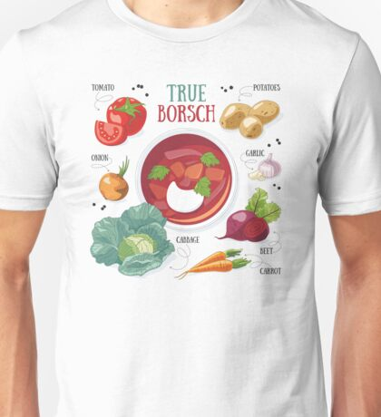 True borsch Unisex T-Shirt