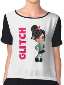 Glitch Chiffon Top