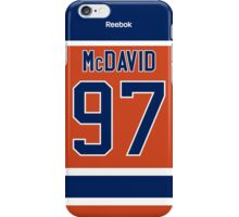 Edmonton Oilers Connor McDavid Alternate Jersey Back Phone Case iPhone Case/Skin