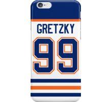 Edmonton Oilers Wayne Gretzky Jersey Back Phone Case iPhone Case/Skin