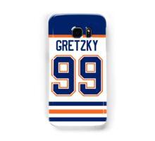 Edmonton Oilers Wayne Gretzky Jersey Back Phone Case Samsung Galaxy Case/Skin