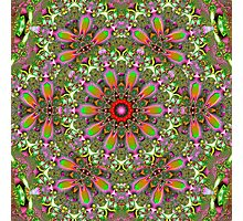 Colorful artistic pattern Photographic Print