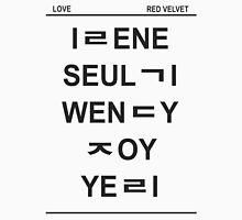 red velvet member hangul Unisex T-Shirt