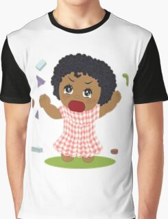 curly hair Graphic T-Shirt