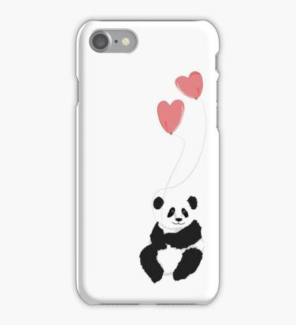 Love panda iPhone Case/Skin