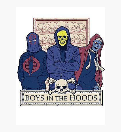 Boys In The Hoods Photographic Print