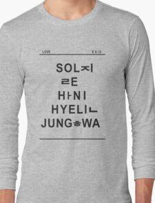 love exid Long Sleeve T-Shirt