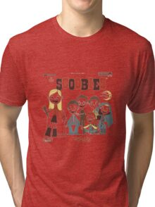 Buffy And The Scoobies Tri-blend T-Shirt