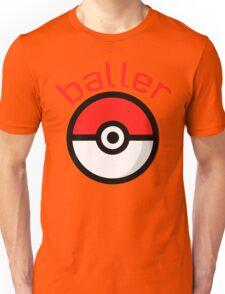 Baller (red lettering) Unisex T-Shirt