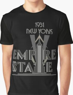 The Empire State Building, NY Graphic T-Shirt