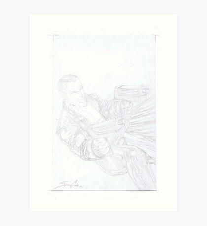 Gunman Art Print
